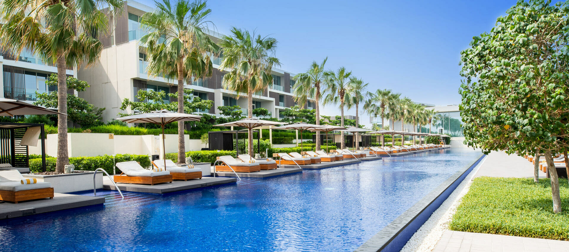 Oberoi Al Zorah piscine