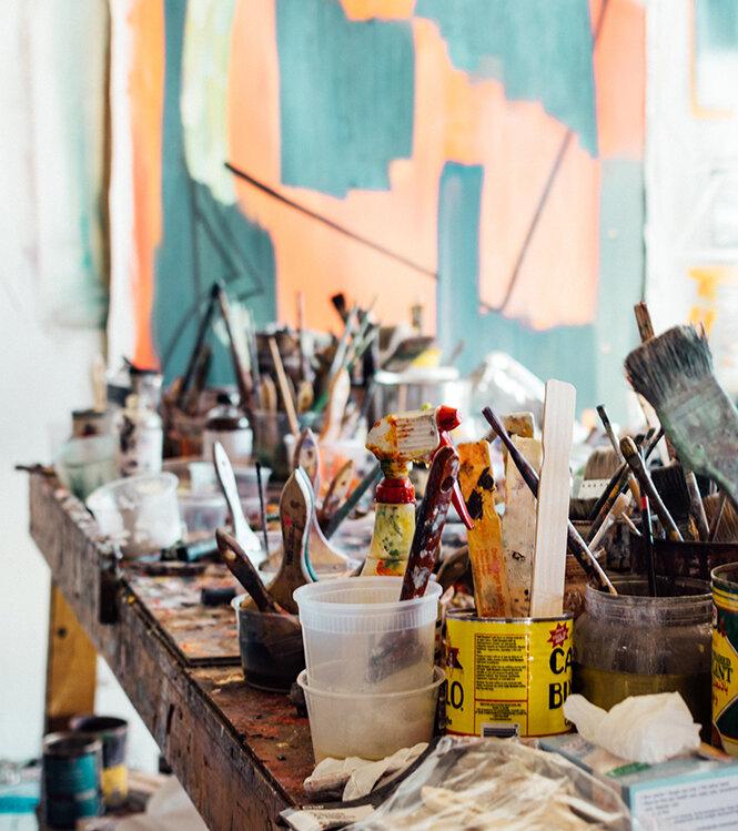 Rencontre & visite d'une collection d'art privé
