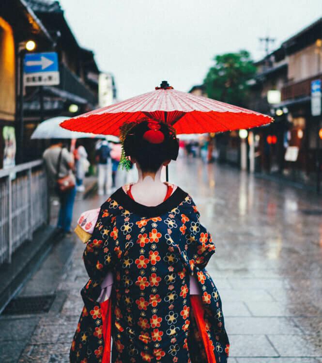 A la rencontre des traditions avec une geisha
