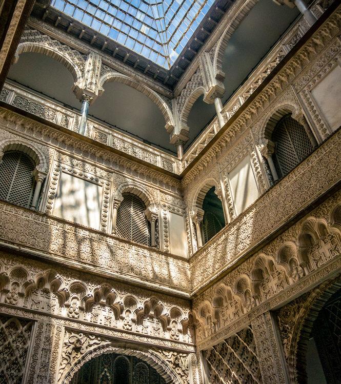 Dans le palais d'un marquis andalou