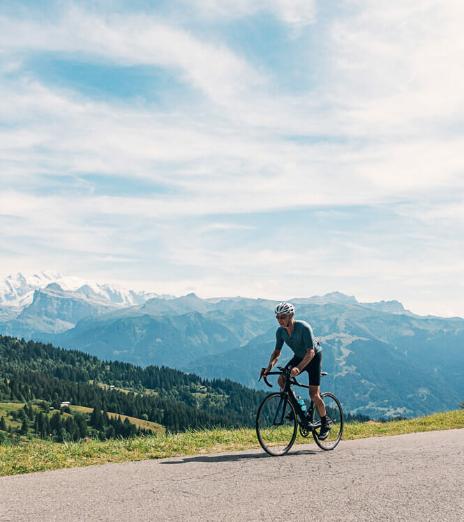 De Beaune à Megève, circuit dans la peau d'un cycliste professionnel