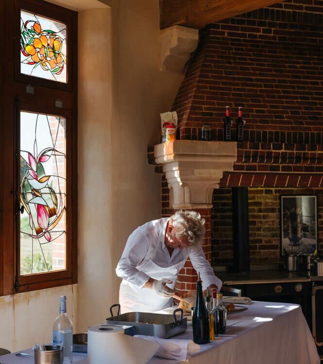 Au septième ciel de la gastronomie avec Alain Passard