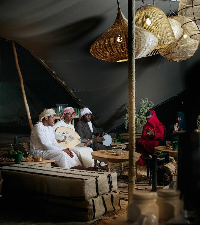 Les mille et une nuits du désert d'Arabie
